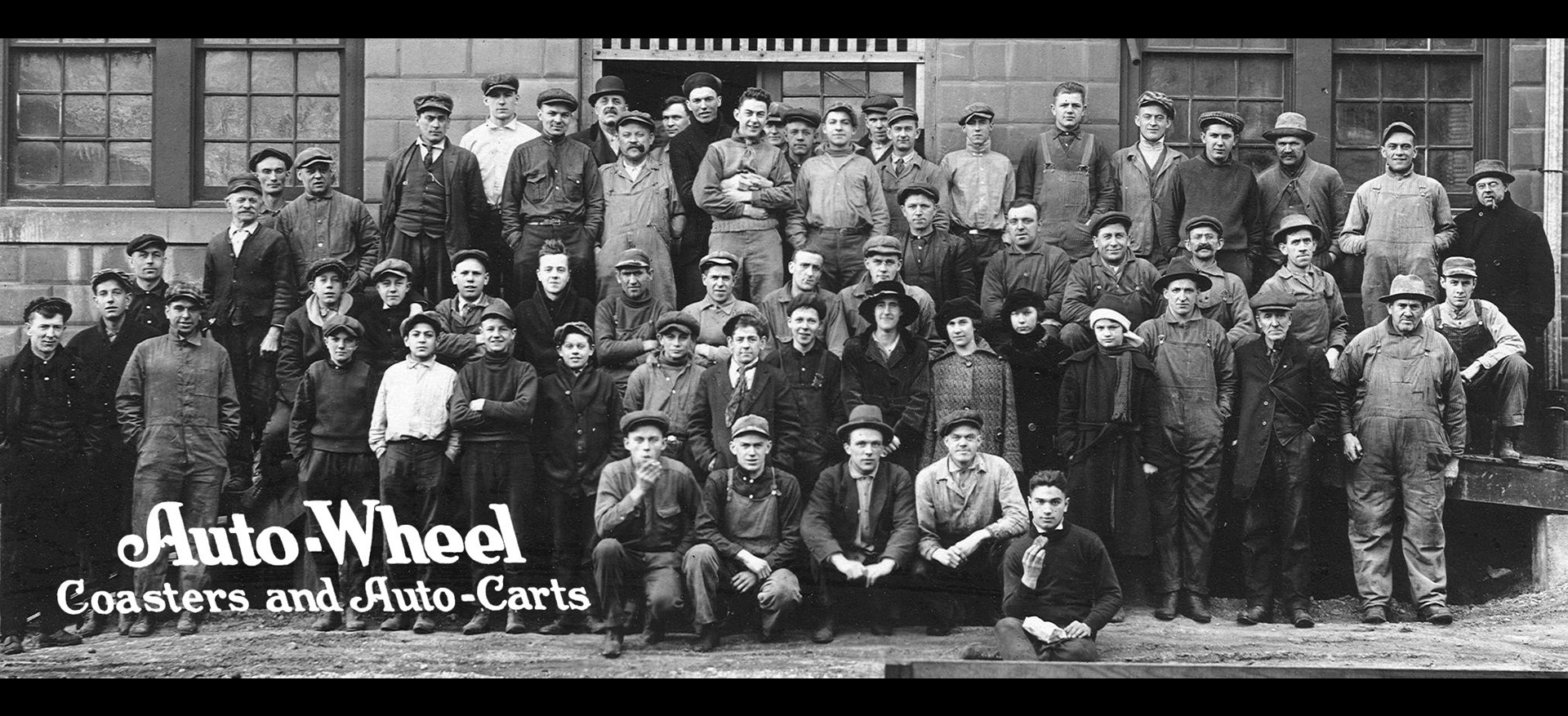 Auto Wheel employees, 1917