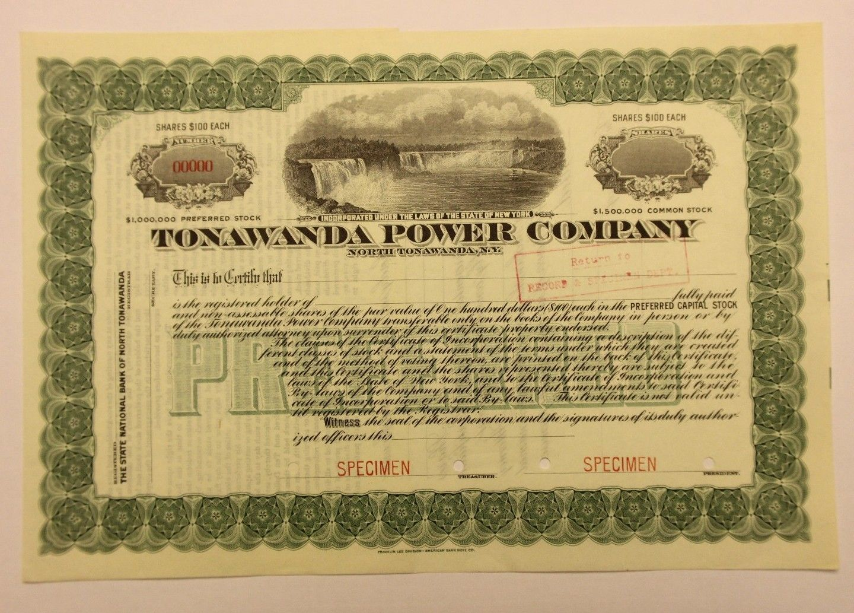 Tonawanda Power Company, illustrated specimen stock (1917).JPG