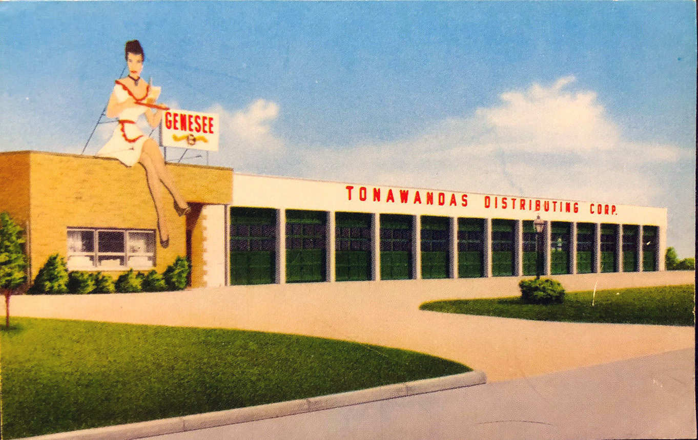 Genesee Brewing - Tonawandas Distributing Corp., postcard (1958).jpg