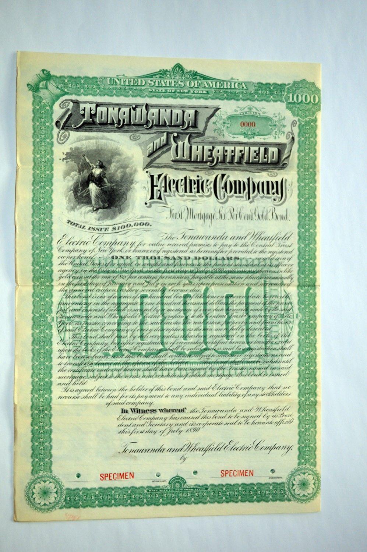 Tonawanda & Wheatfield Electric Co., stock specimen 1 (1890).jpg