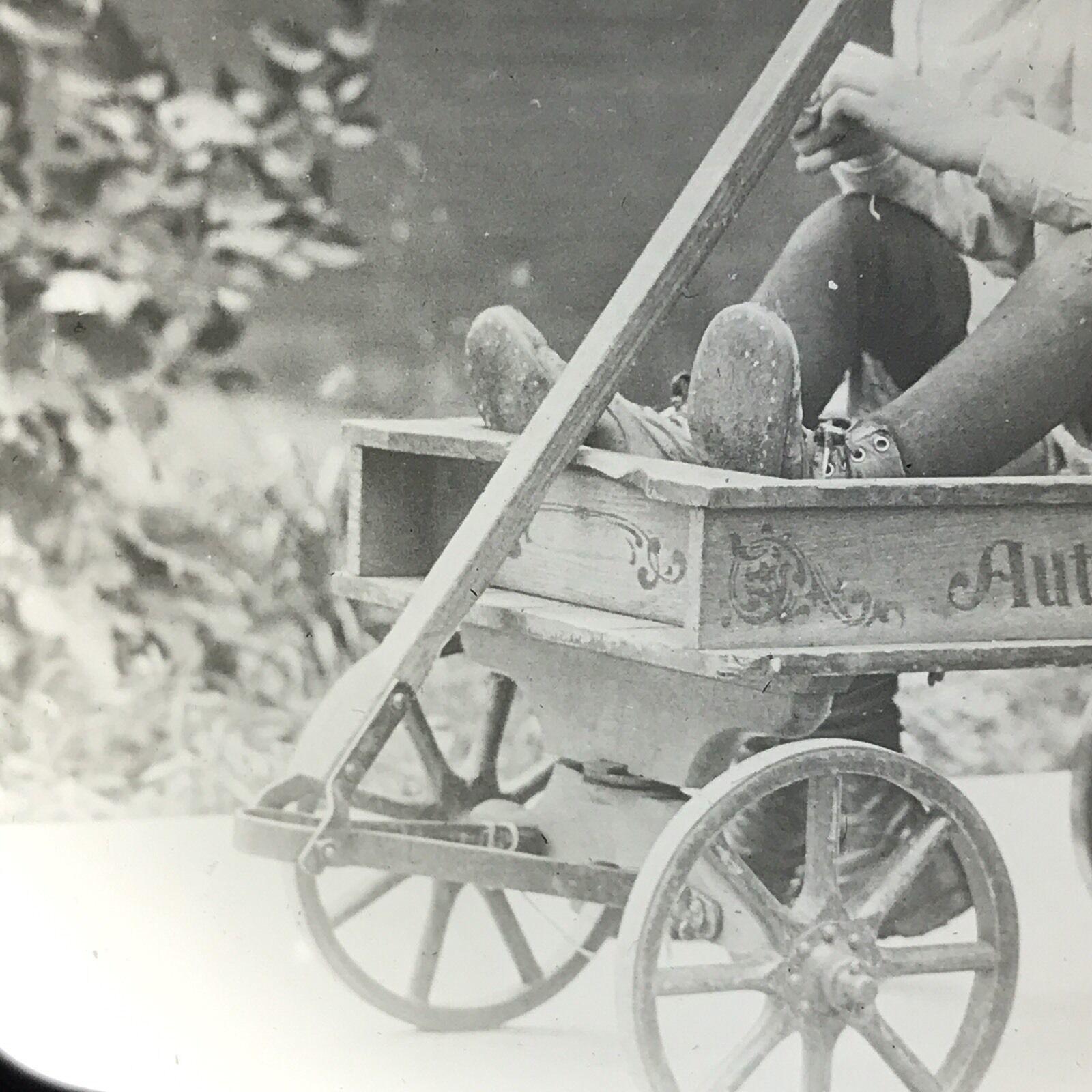 Girls in Auto-Wheel Coaster, magic lantern slide (c.1920) 3.jpg