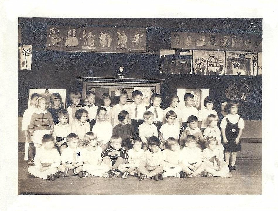 Glenn C. Martin, Pine Woods School Kindergarten class photo (1934-35).jpg
