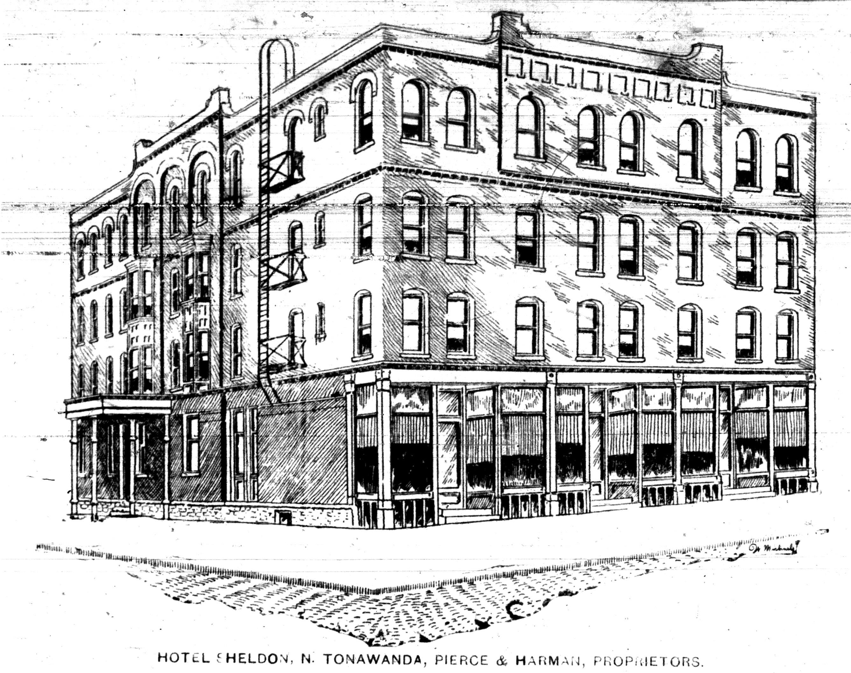 Hotel Sheldon, illustration (1893-08-05 Tonawanda News).jpg