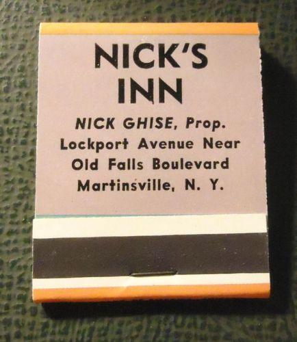 Nicks Inn, Ghise, Martinsville, matchbook back (c1960).jpg