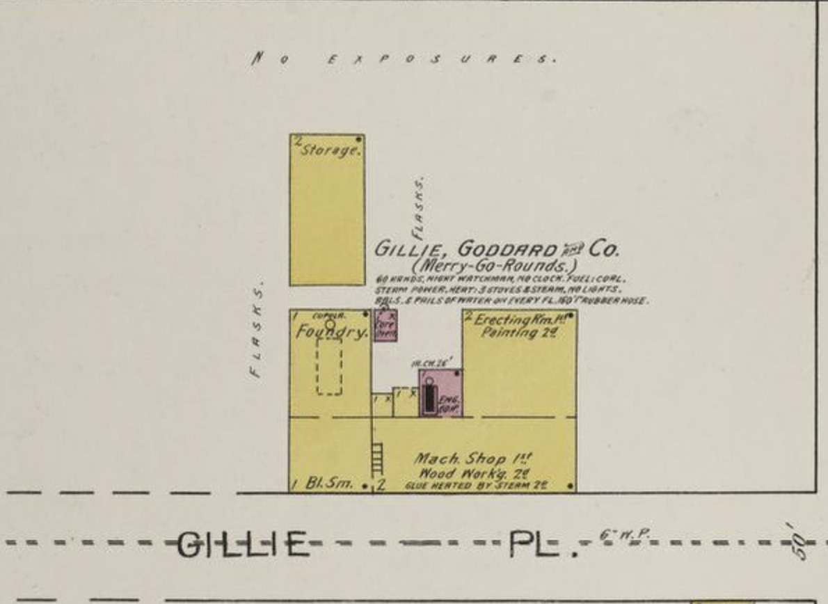 Gillie Place, map, plate 43 (Sanborn-Perris, 1893).jpg