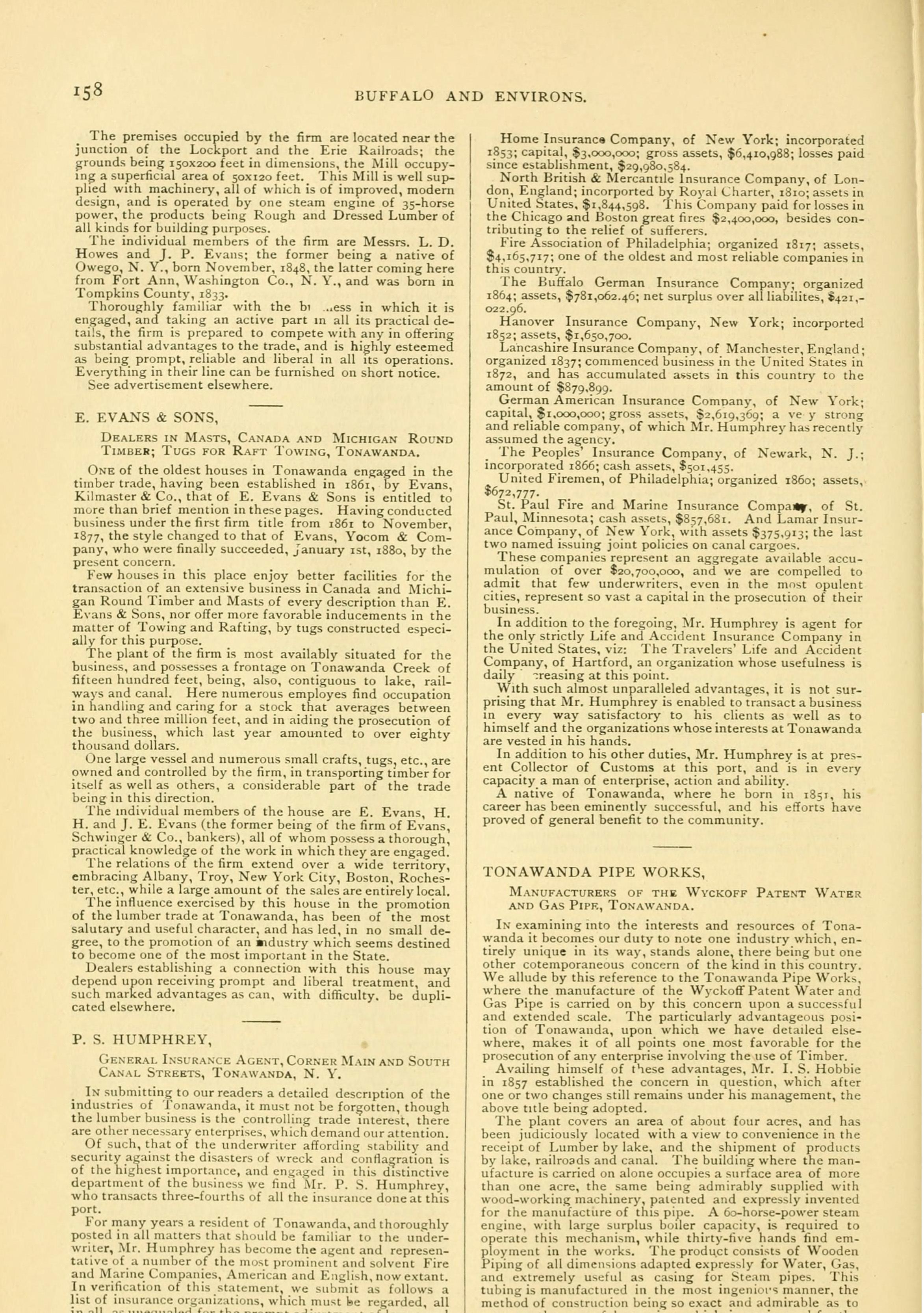 Tonawanda, book excerpt (Commerce, 1880) p158.jpg