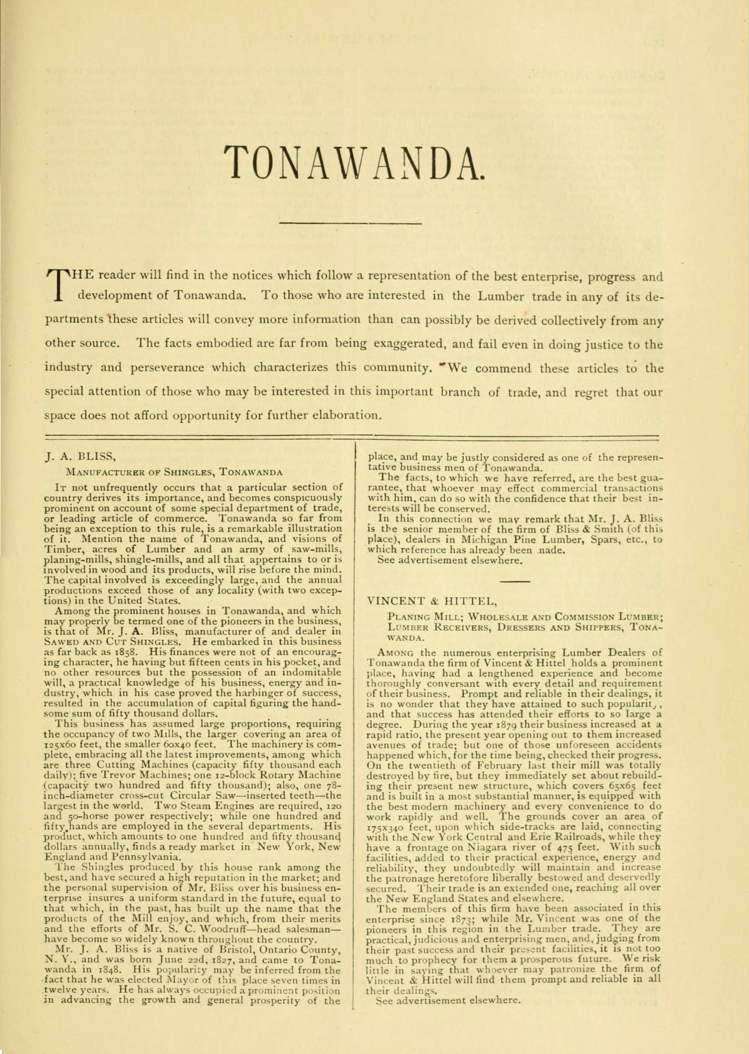 Tonawanda, book excerpt (Commerce, 1880) p155.jpg