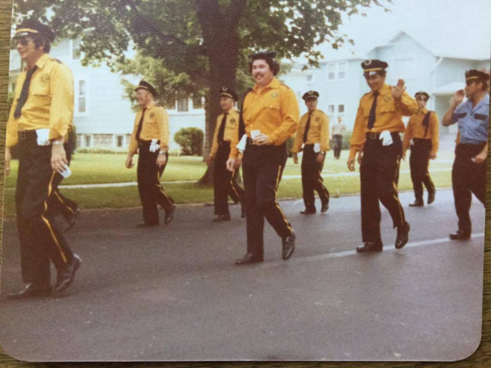 Rescue Fire Company on parade, Martinsville, photo (c1975).jpg.jpg