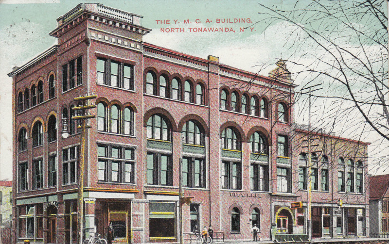 The YMCA Building, postcard (1909).jpg