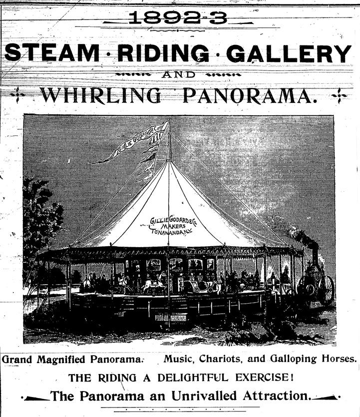 Gillie Godard and Co - Steam Riding Gallery ad, detail (Tonawanda News,  1894).jpg