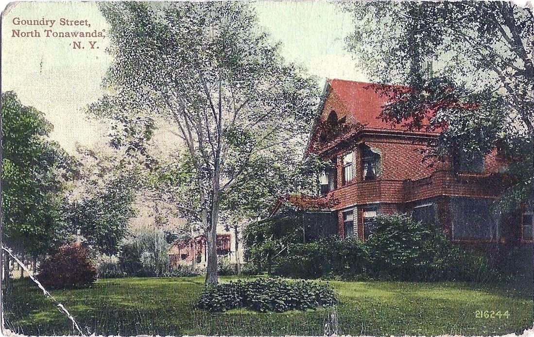 Goundry Street, North Tonawanda, illustrated postcard (1913).jpg