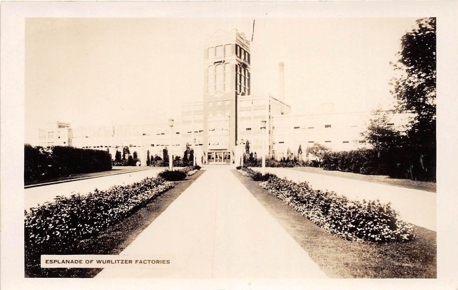Esplanade of Wurlitzer Factories, postcard (c1925).jpg