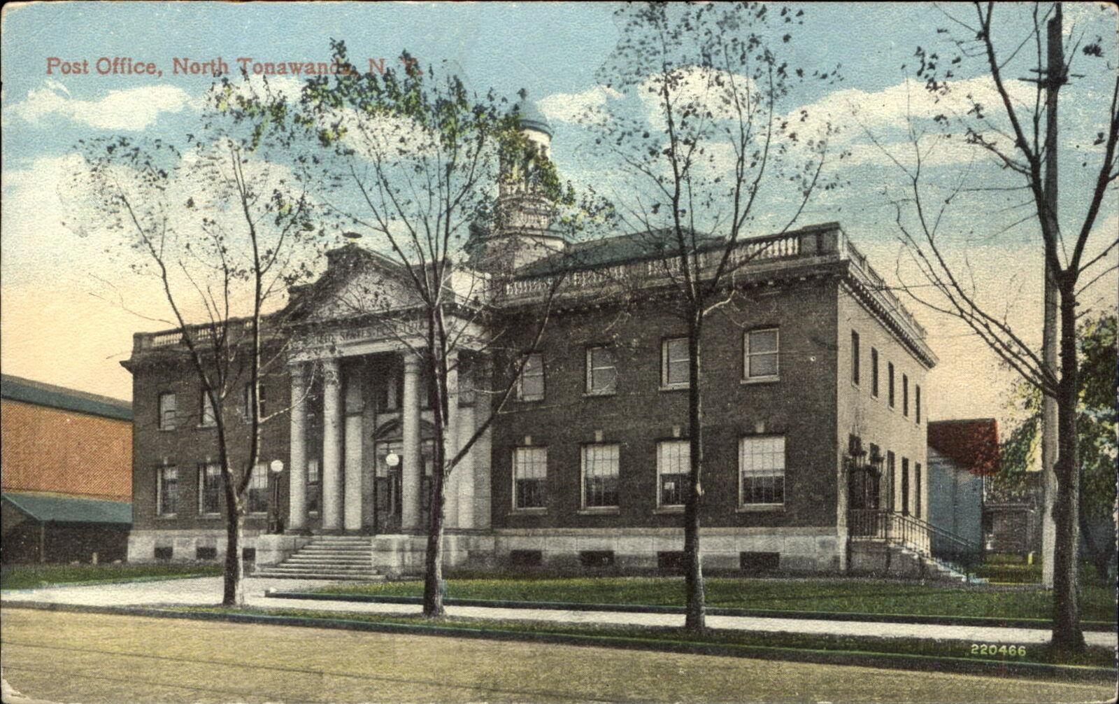 Post Office, North Tonawanda, postcard (1919-10).jpg