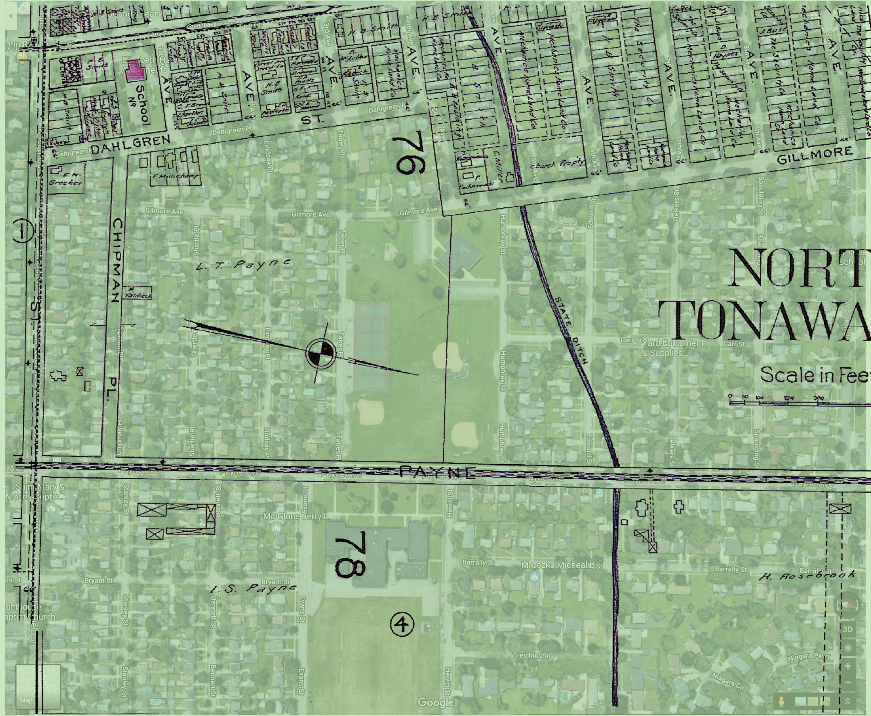Payne Acres - 1908 map overlaying 2019 satellite image.jpg