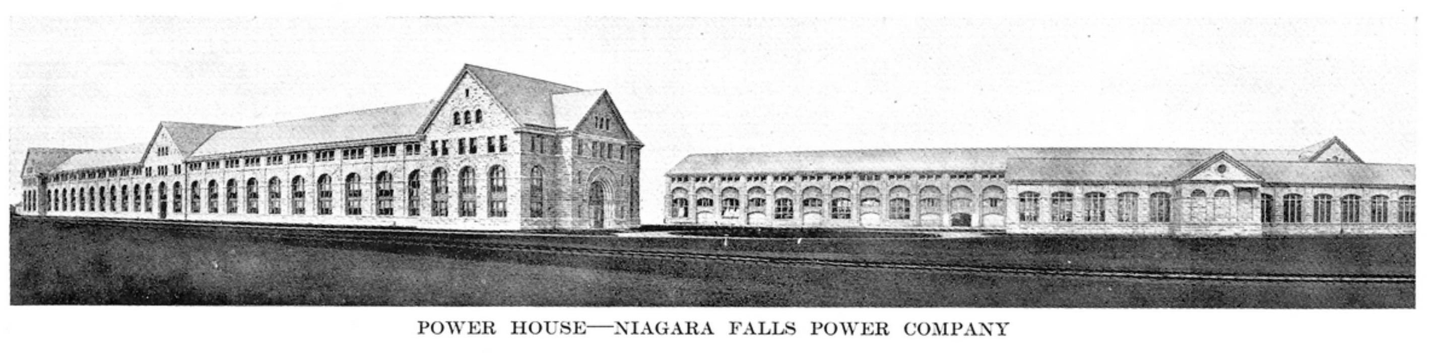 Powerhouse - Niagara Falls Power Co.. illustration (Greater Buffalo NY Undustrial Commercial, 1914).jpg
