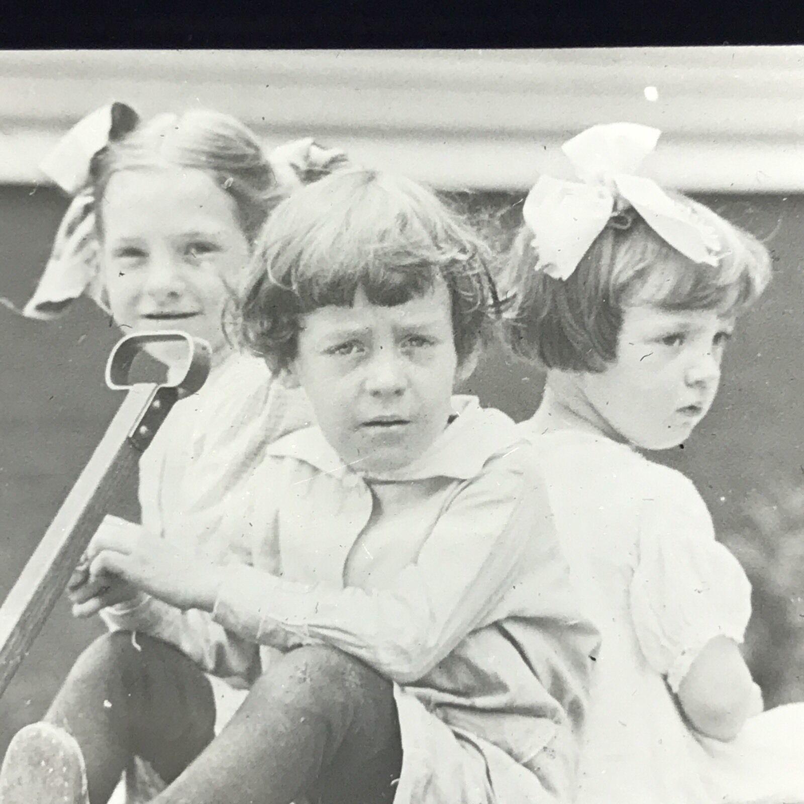 Girls in Auto-Wheel Coaster, magic lantern slide (c.1920) 4.jpg
