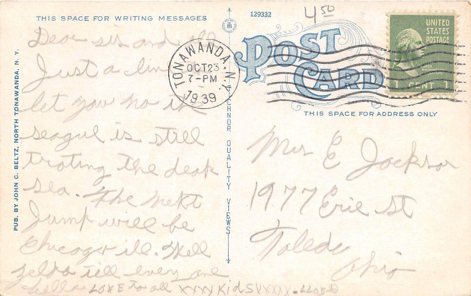 Tonawanda Power Company, postcard back (c1928).jpg