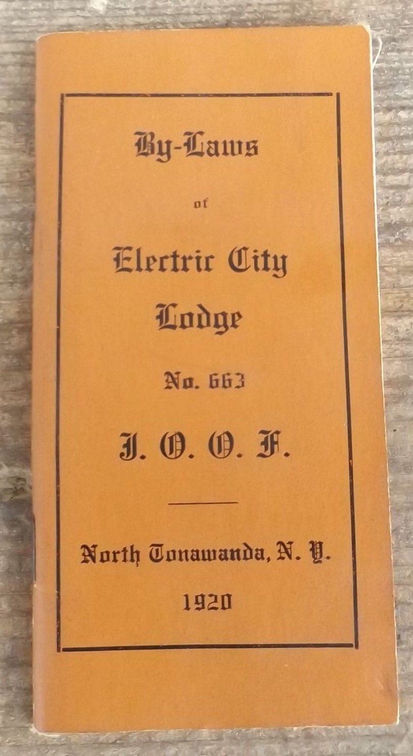 By-Laws of Electric City Lodge 663, I.O.O.F., booklet excerpts (1920).jpg