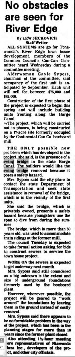 No Obstacles Are Seen for River Edge, article (Tonawanda News, 1986-04-11).jpg