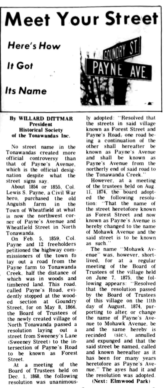 Meet Your Street - Payne Avenue (Tonawanada News, 1969-05-03).jpg
