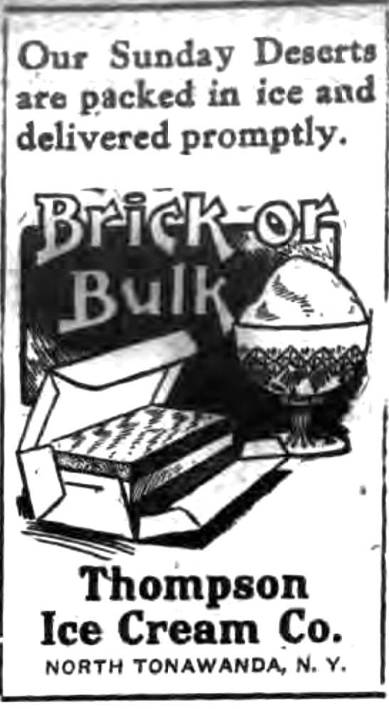 Thompson Ice Cream, illustrated ad (Tonawanda News, c1913).jpg