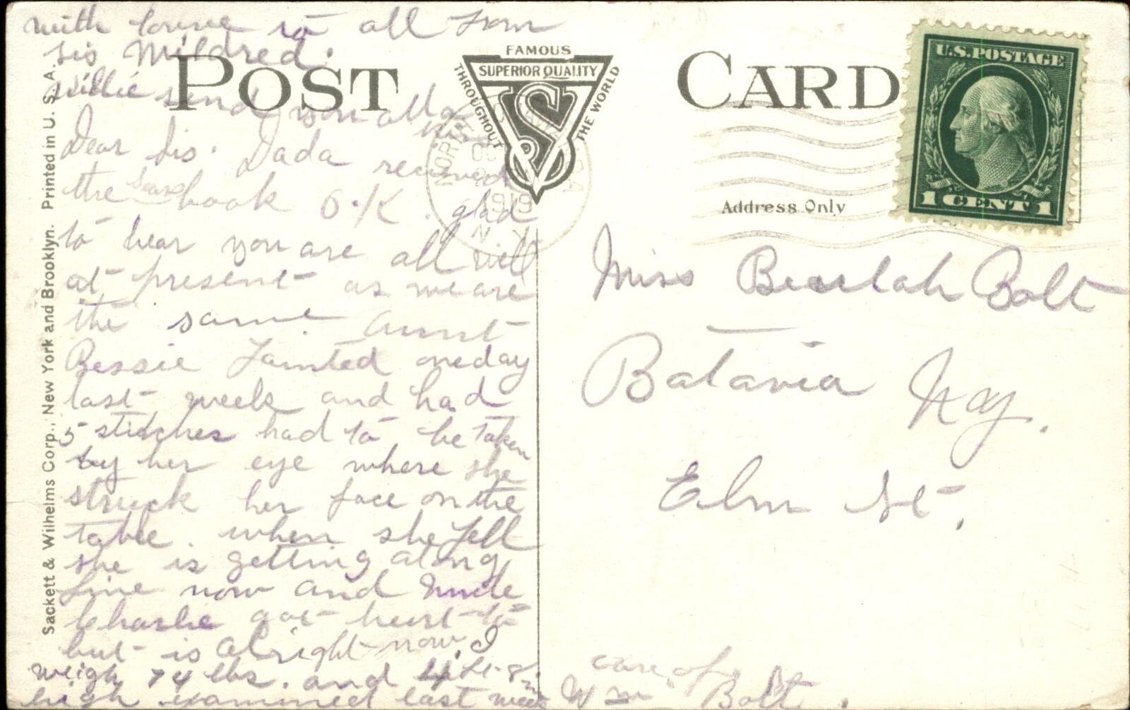 Post Office, North Tonawanda, postcard (1919-10) reverse.jpg