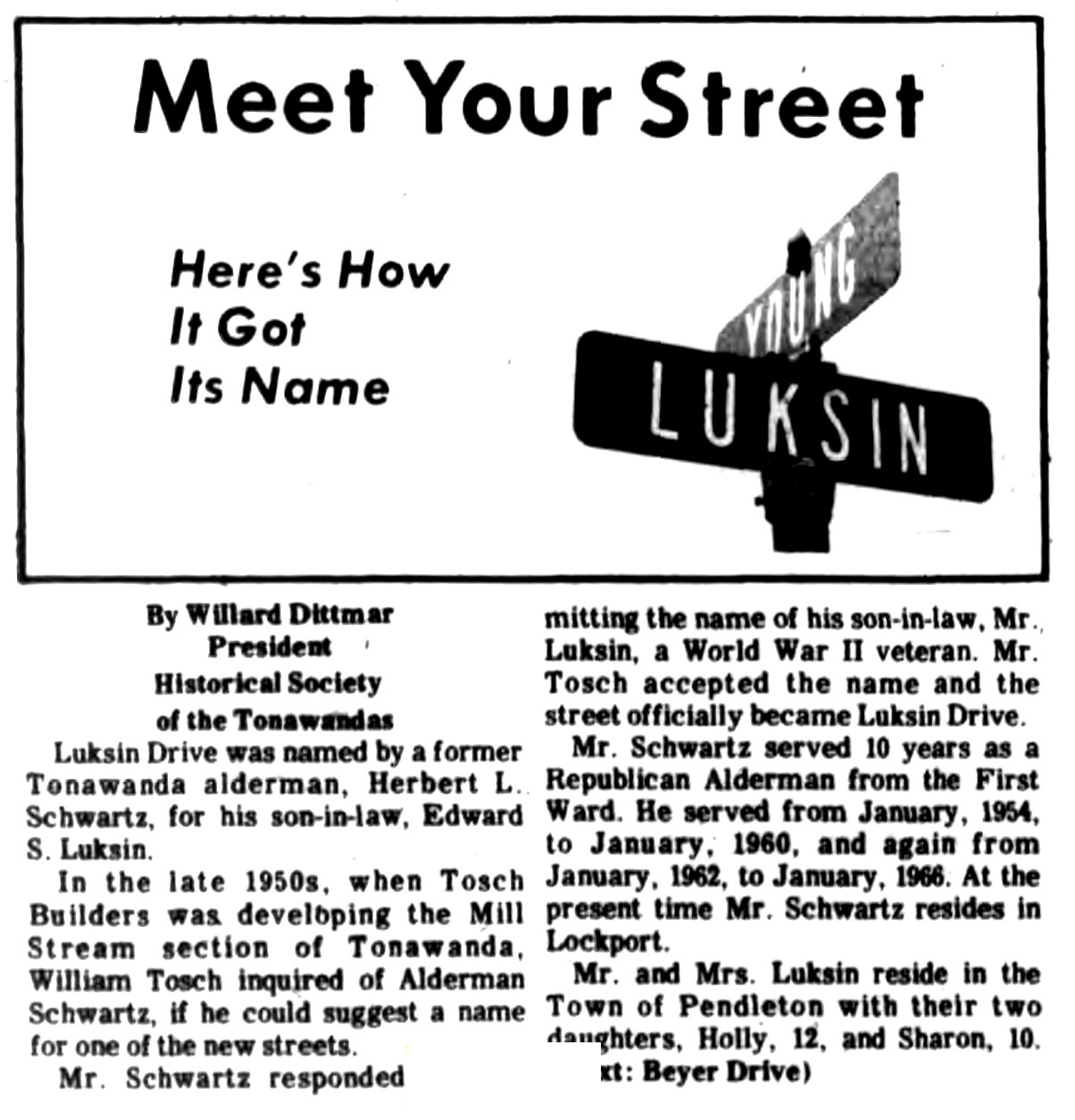 Meet Your Street - Luksin Drive in Tonawanda (Tonawanada News, 1970-09-18).jpg