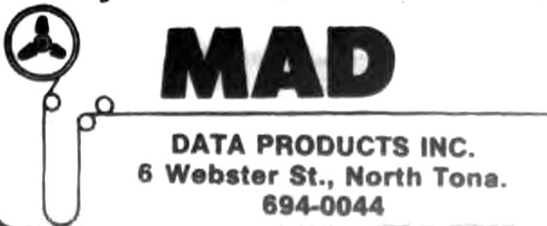 MAD Data Products, 6 Websyer, ad, logotype (Tonawanda News, 1986-10).jpg
