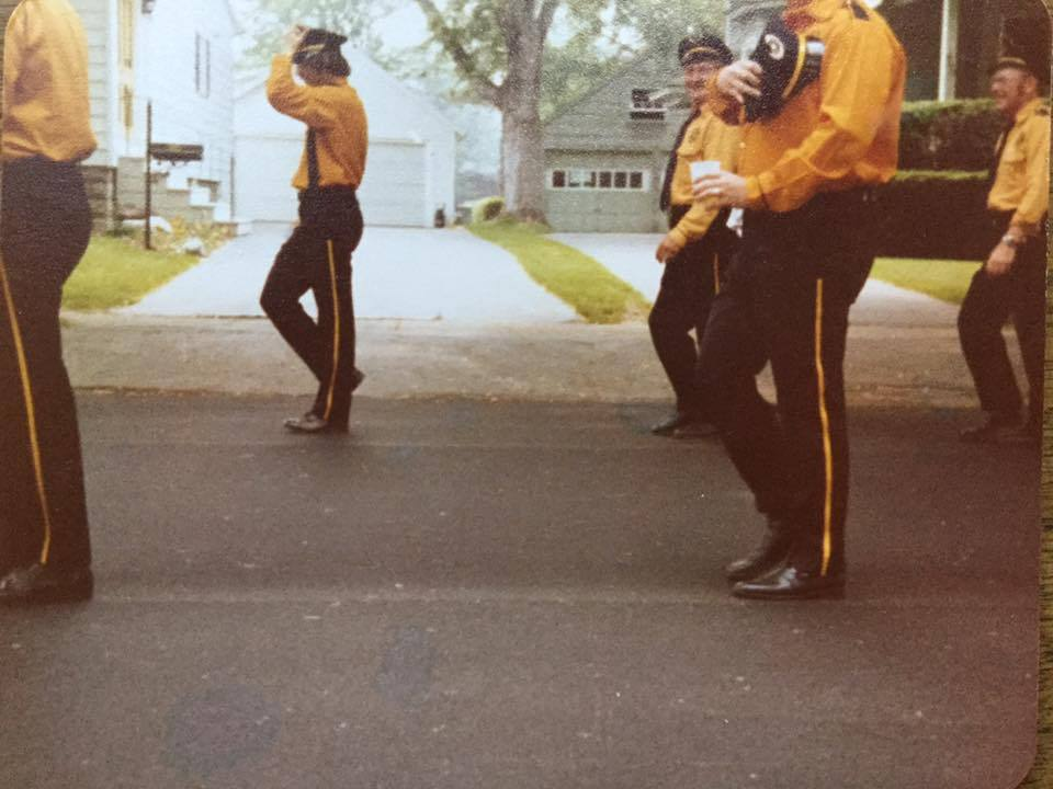 Rescue Fire Company on parade in Martinsville, photo (c1975).jpg
