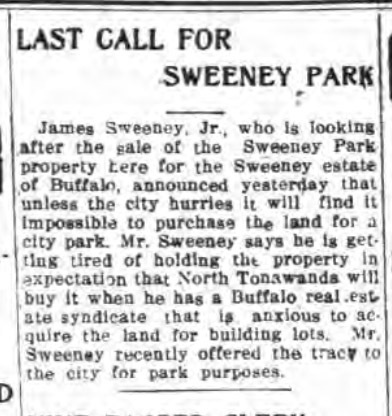 Last Call for Sweeney Park, article (Tonawanda Evening News, 1915-11-11).jpg