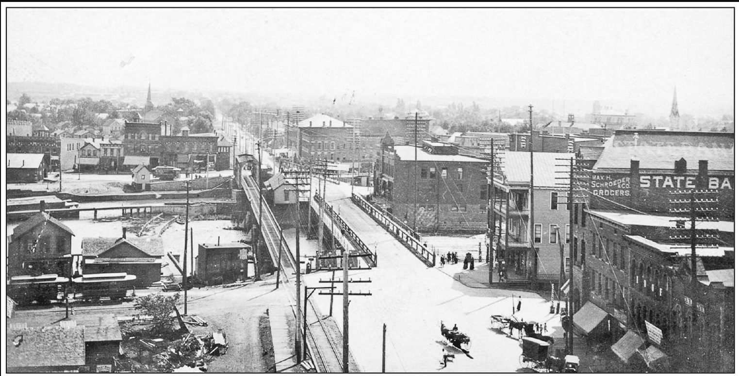 View from Real Estate Echange building c1910, photo (HSOT).png