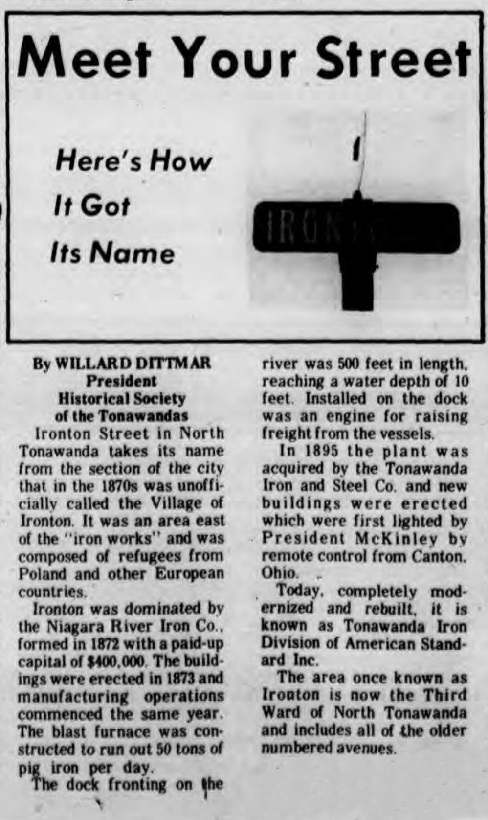 Meet Your Street - Ironton (Tonawanada News, 1970-02-14).jpg