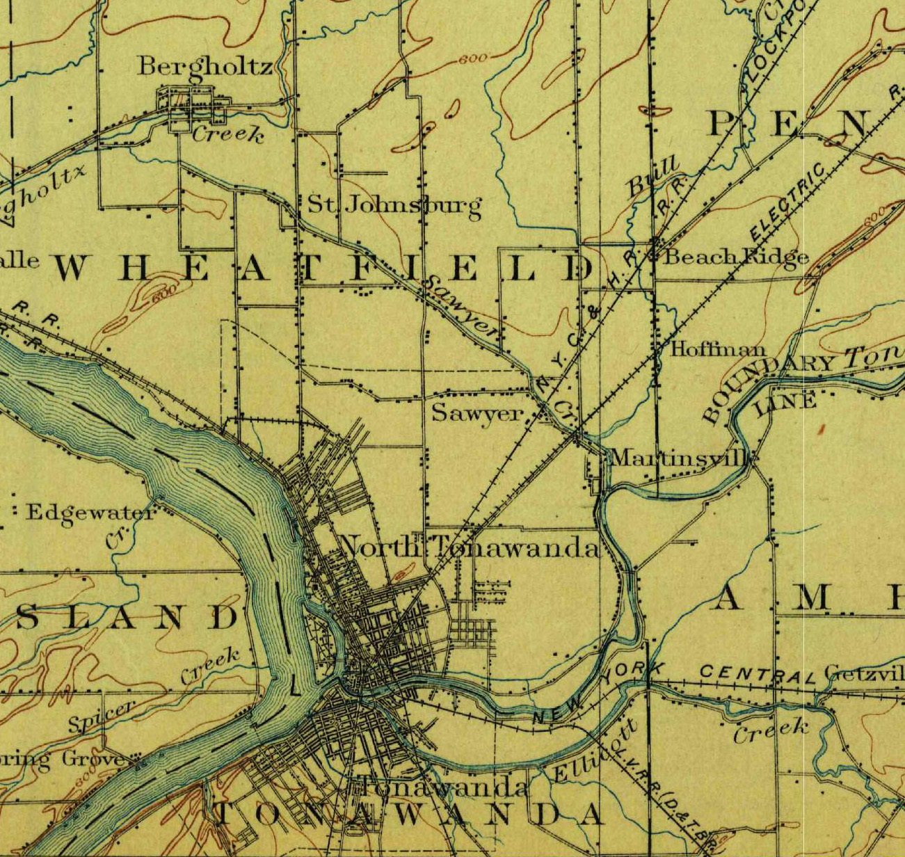 Wheatfield, Sawyer, Martinsville, topographical map (1899).jpg