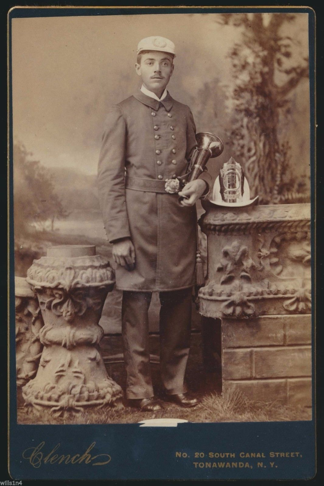Firefighter by Clench, 20 South Canal St., photo portrait (c1900).jpg