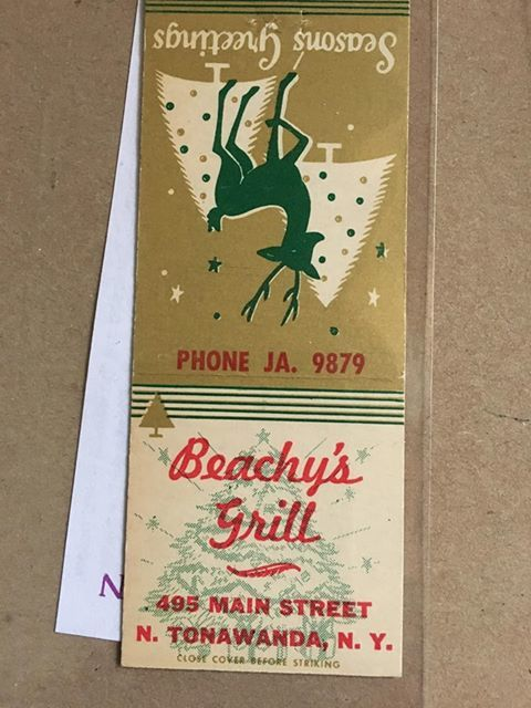 Beachys Grill, matchbook.jpg