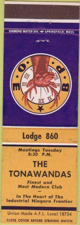 Elks Club, matchbook (c1945).jpg