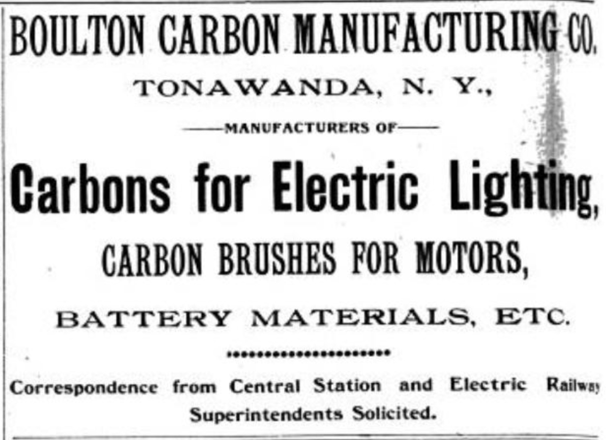 Boulton Carbon Mfg Co, ad (Electrical World, 1893-12).jpg