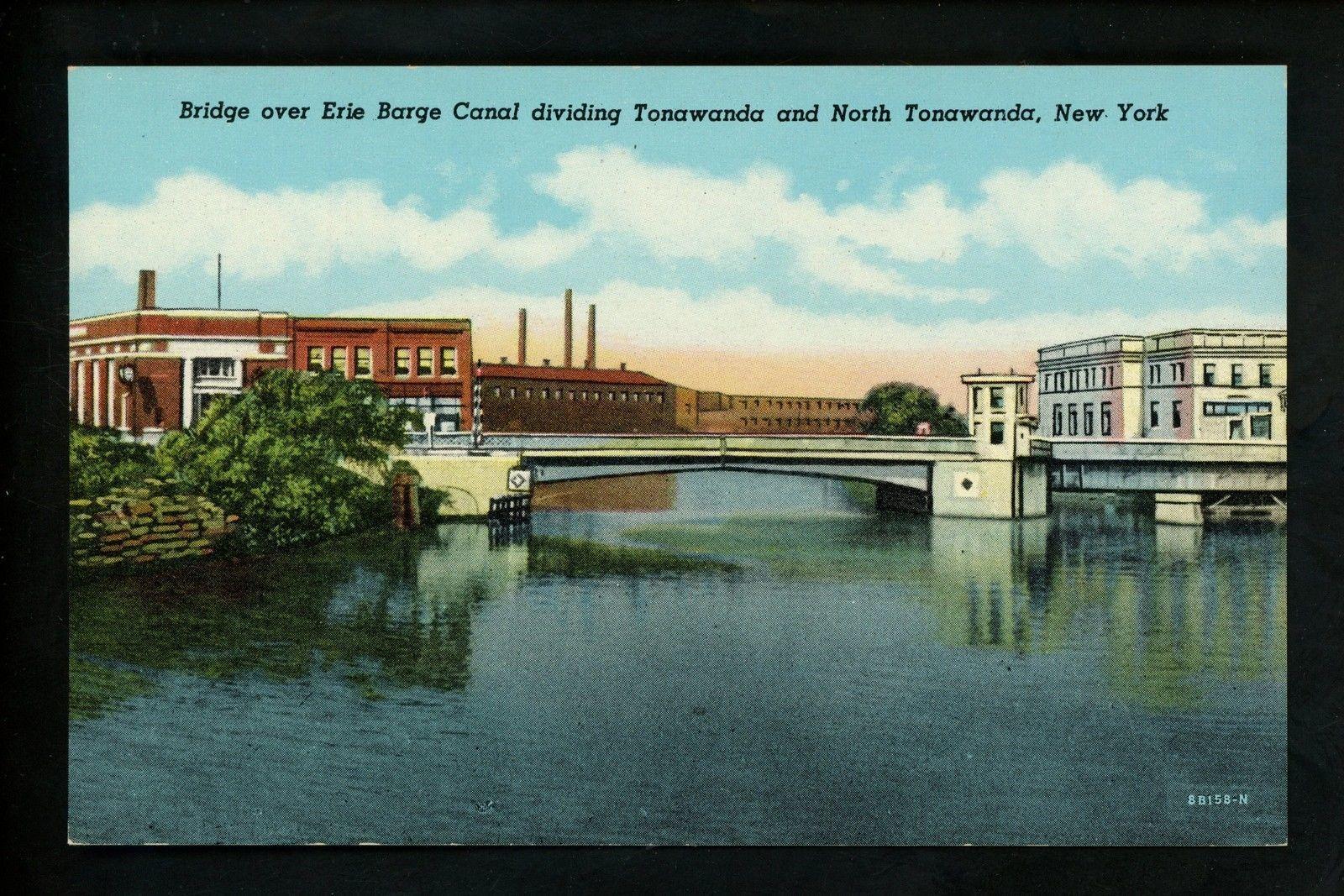 Bridge over Erie Barge Canal, postcard.jpg
