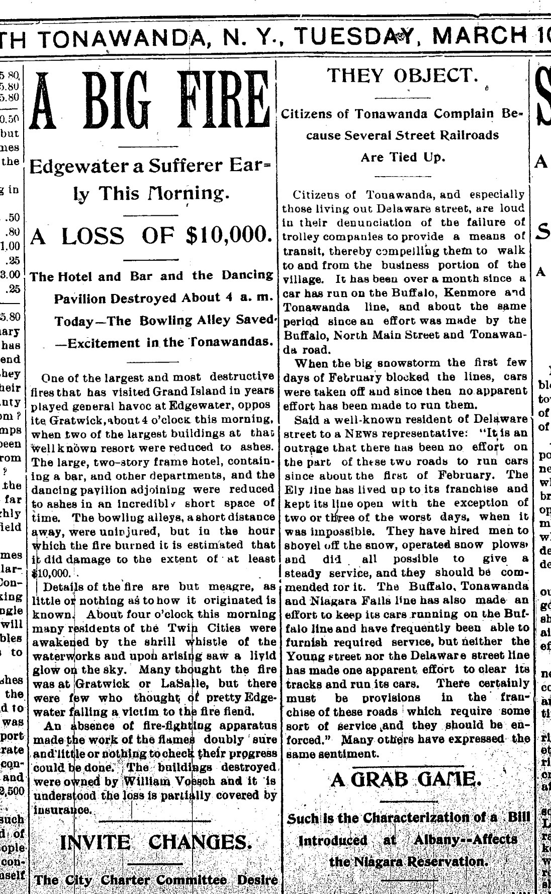 Edgewater Hotel Burns, article (Tonawanda News, 1896-03-10).jpg