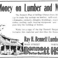 Bennett Homes, illustrated ad (Tonawanda News, 1921-03-04).jpg