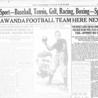All-Tonawanda Football Team Here Next Sunday, article (Niagara Falls Gazette, 1921-10-11).jpg