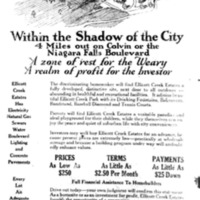 Ellicott Creek Estates, ad (Tonawanda News, 1926-10-09).jpg