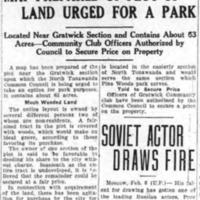 Black Hanna Woods urged as park site, article (Tonawanda News, 1930-02-06).png