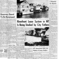 Council orders legal actions to evict boathouse owners, Riverfront lease system in NT, photo article (Tonawanda News, 1962-12-04) .jpg