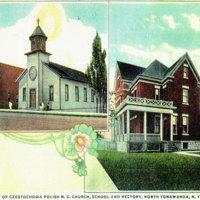 Our Lady of Czestochowa, postcard (c1920).jpg