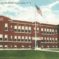 Colenel Payne School, illustrated postcard.jpg