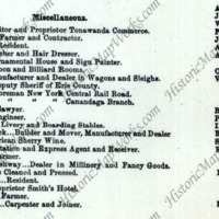J Chadwick...Livery and Boarding Stables, map listing (1866).png