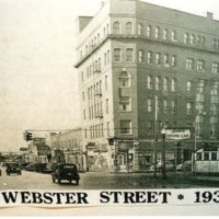 Smiths Dining Car, Exchange, Tremont and Webster, postcard (1936).jpg