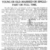 Rand Company Has Work for 150 Women, ad (Tonawanda News, 1918-09-10).jpg