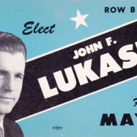 Elect John Lukasik Mayor, North Tonawanda, postcard.jpg